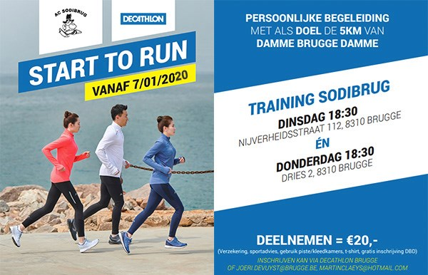 Start2Run, AC Sodibrug, januari 2020